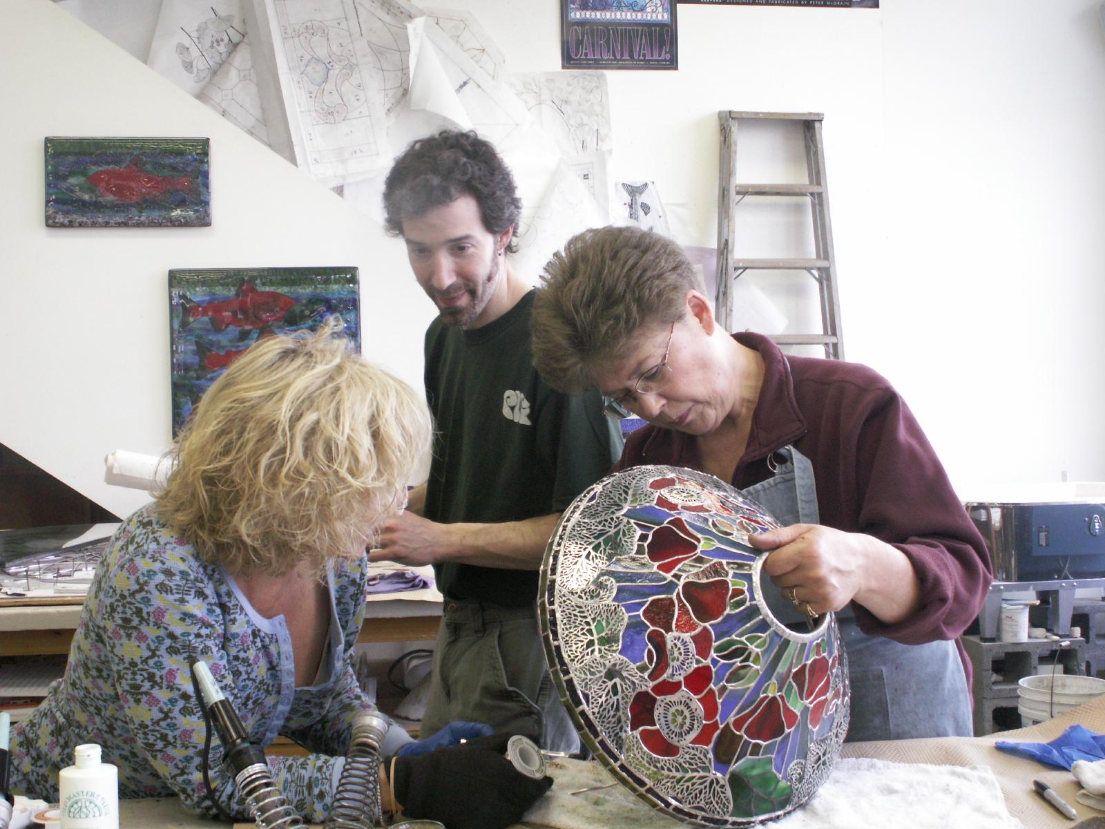 2007 Nany helping Cheryl