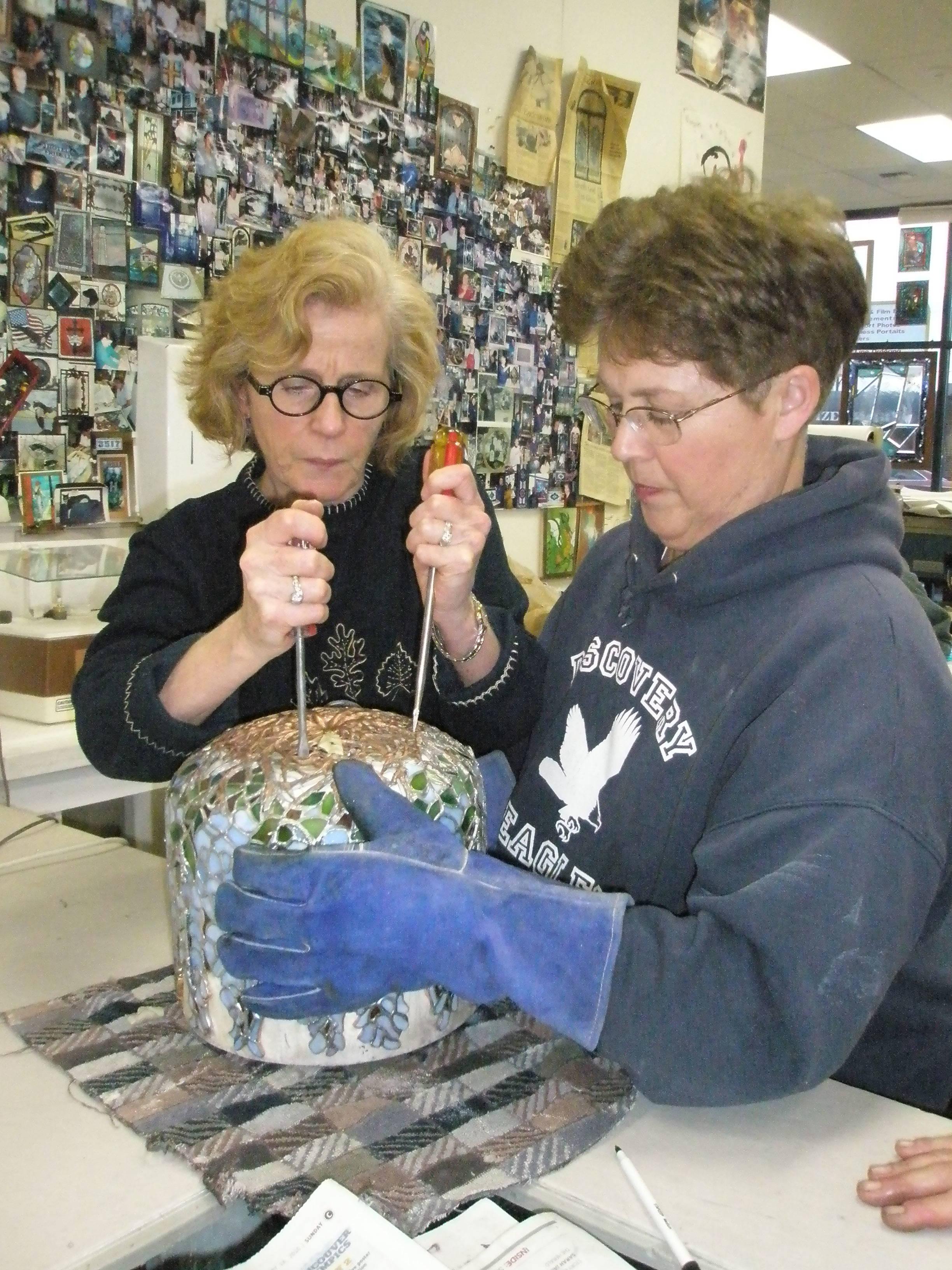 2010 Nancy with Patty