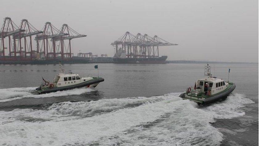 Chinese patrol boats