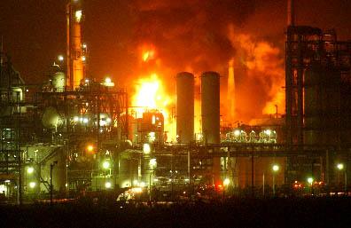 Chemical Plant Explosion - Baku, Azerbaijan