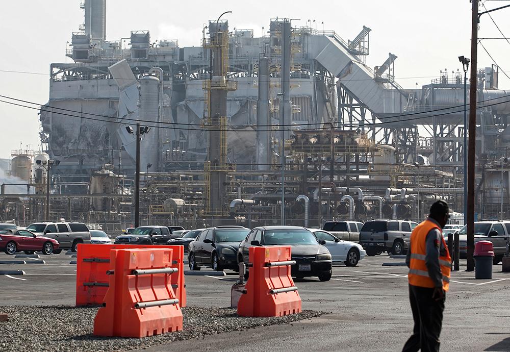 Exxon Torrance oi refinery explosion