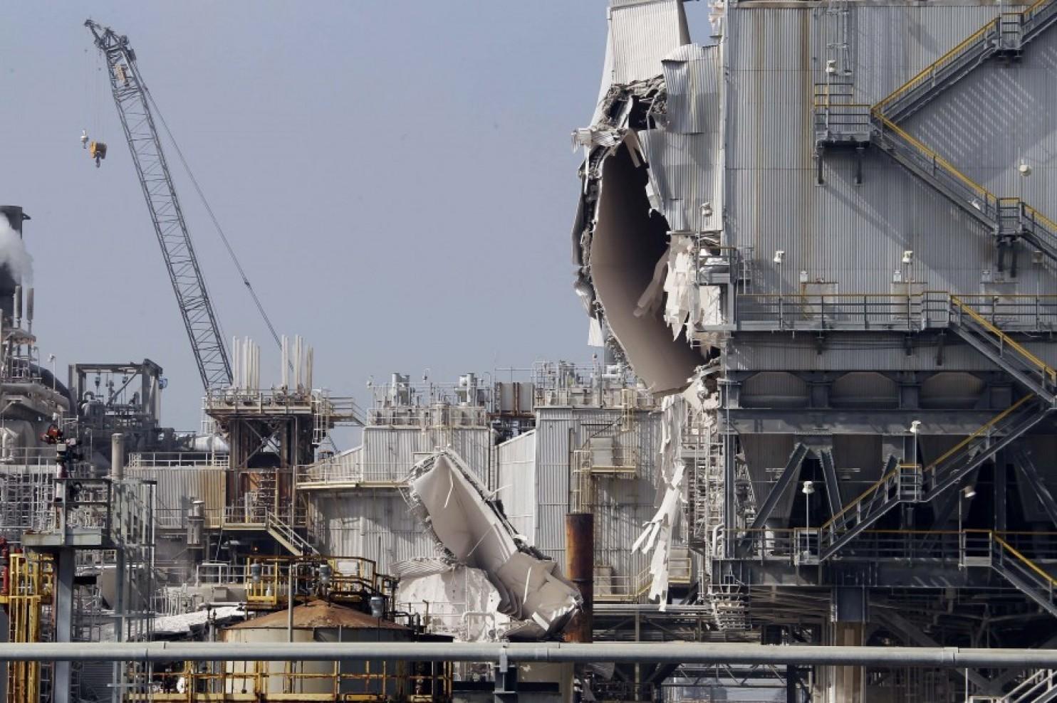 Exxon Torrance oil refinery explosion 2