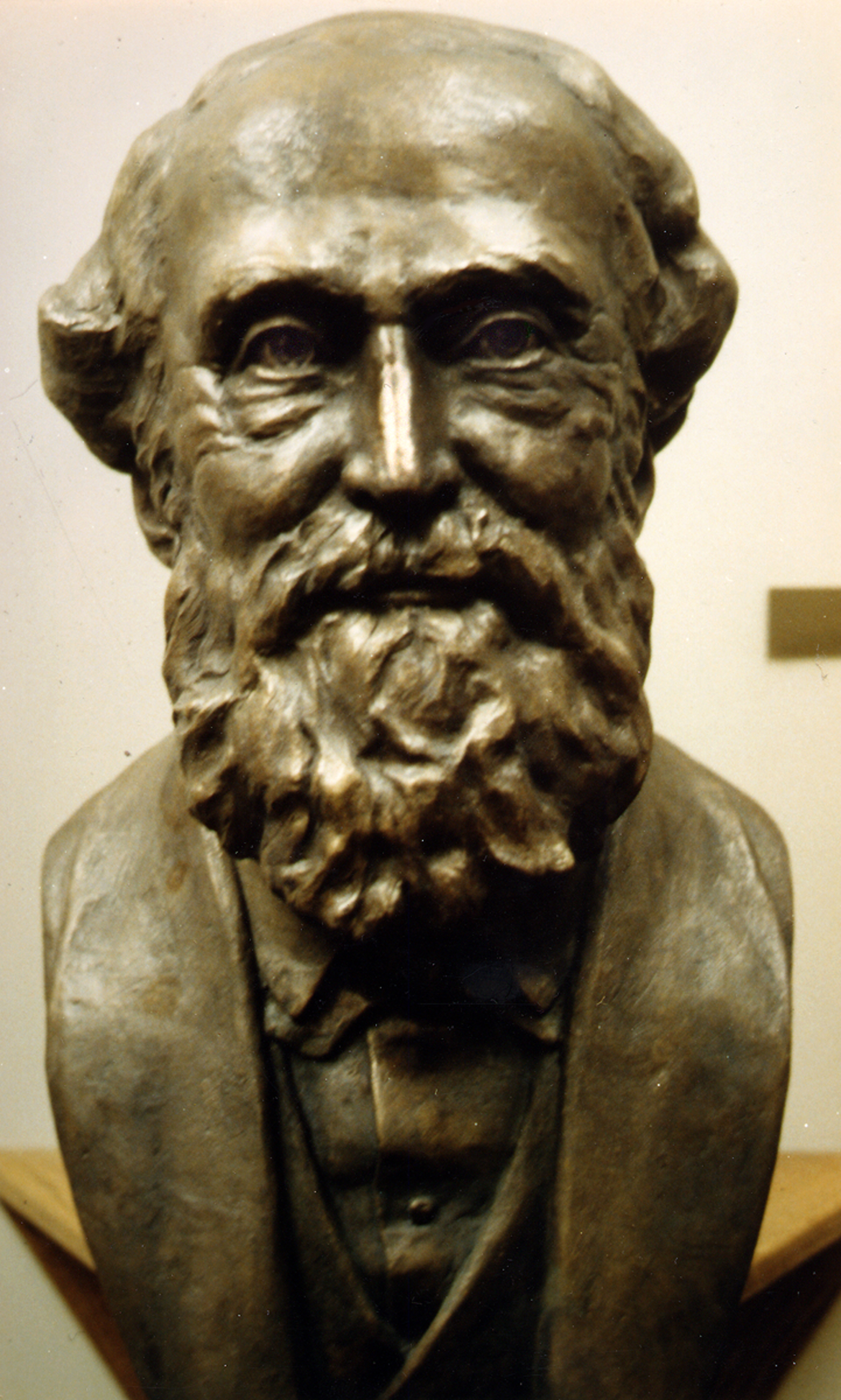 Bust of Sir George Williams