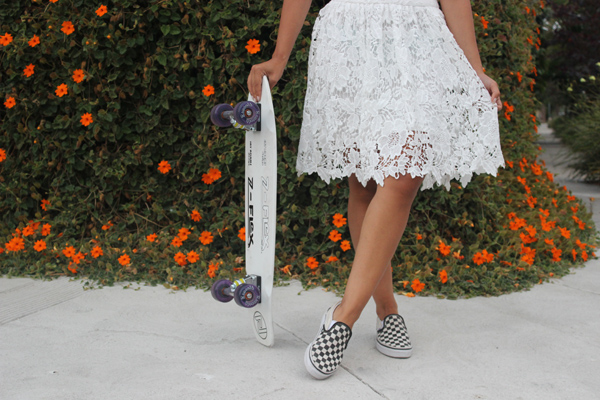 Shoes: Vans Skirt: Forever21 Top: Zara    Tell us your thoughts on it all!
