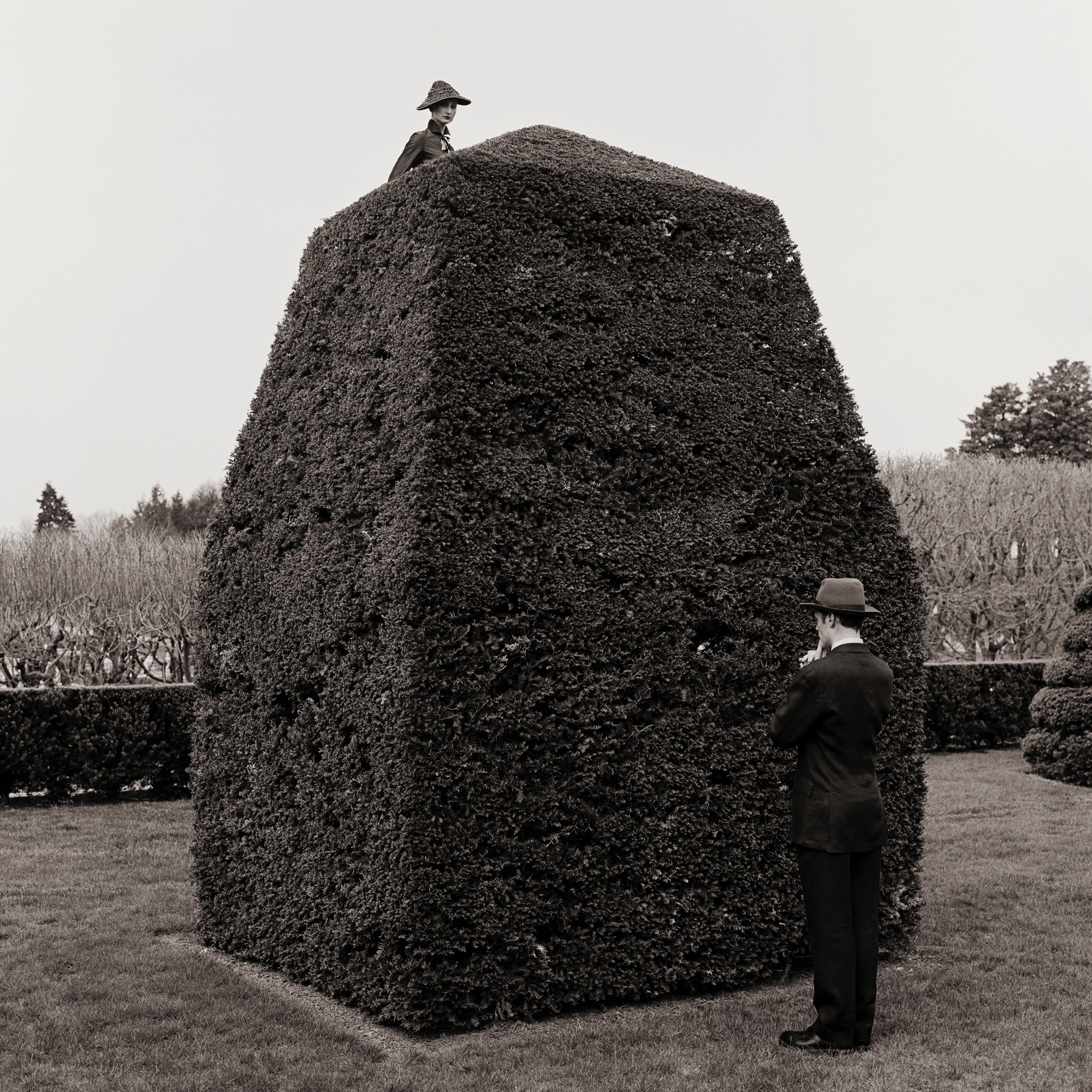 Question Mark Picture, Longwood   Gardens, Pennsylvania  1997 Archival pigment print 69 x 69 cm (image) 89 x 99 cm (paper)