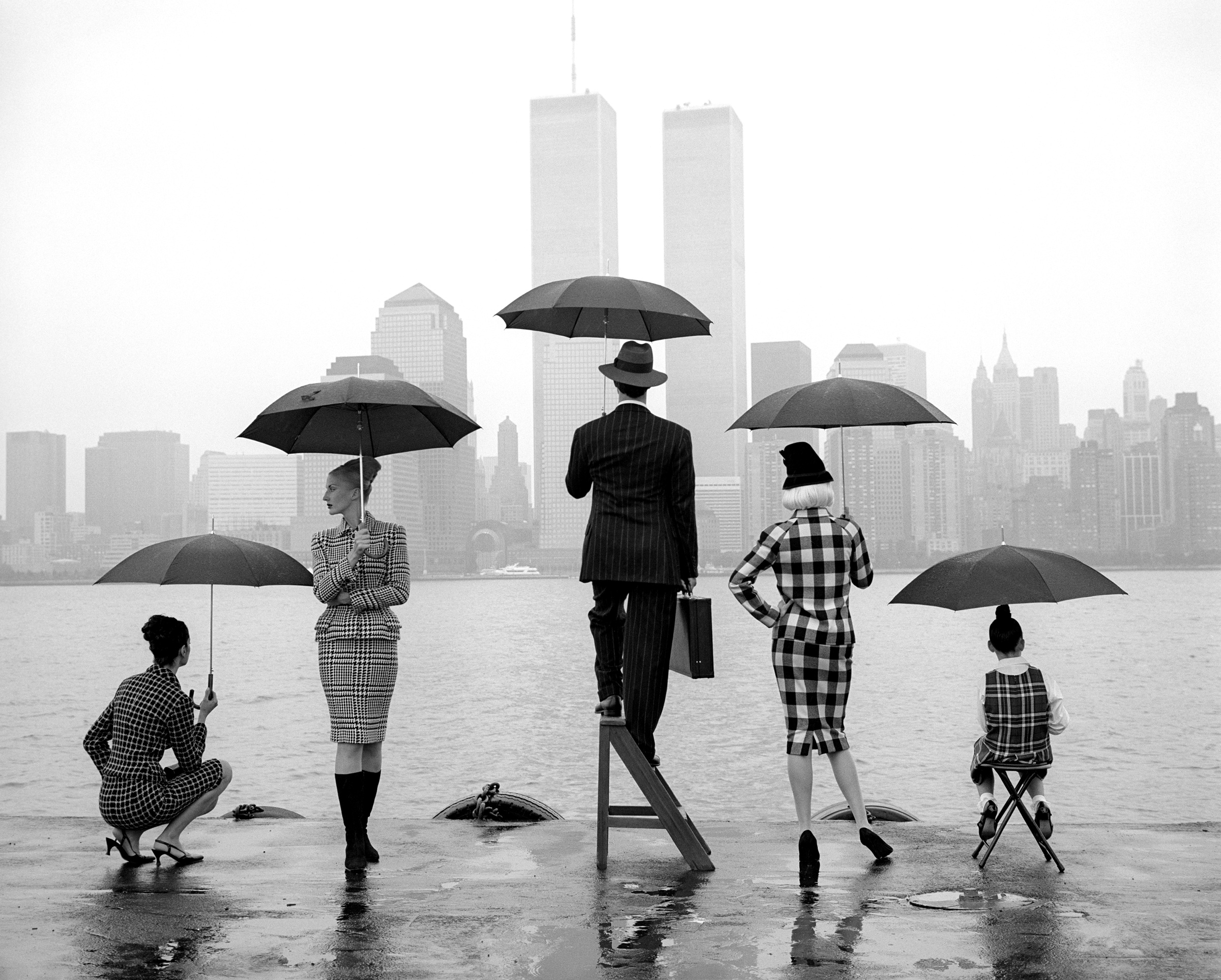 Skyline, Hudson River New York  1995 Archival pigment print 102 x 127 cm (image) 112 x 152 cm (paper)
