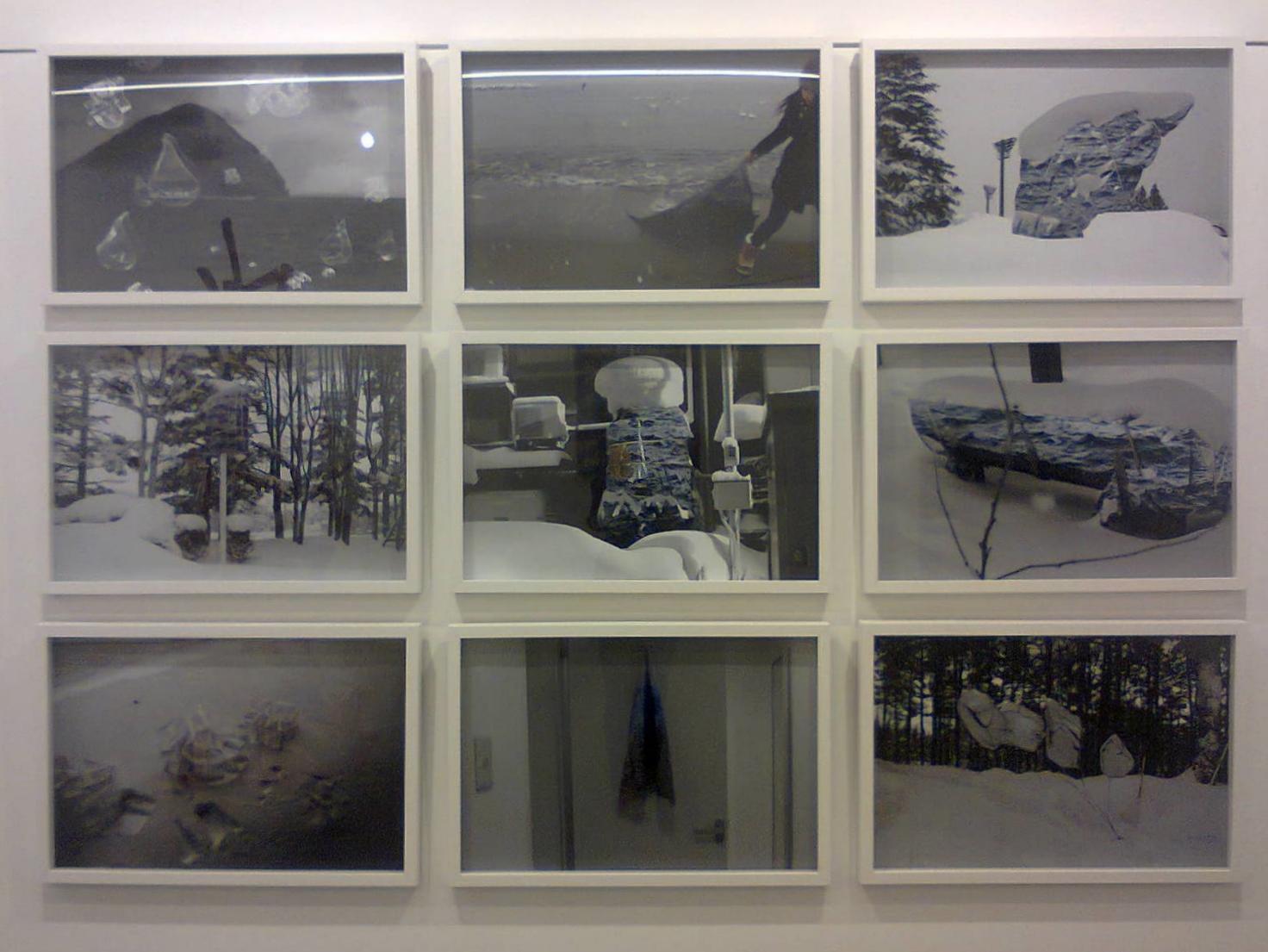 JOO Choon Lin   Supersensible Realm (video stills)  2011 Edition of 52 A/P 39 x 59 cm (image)