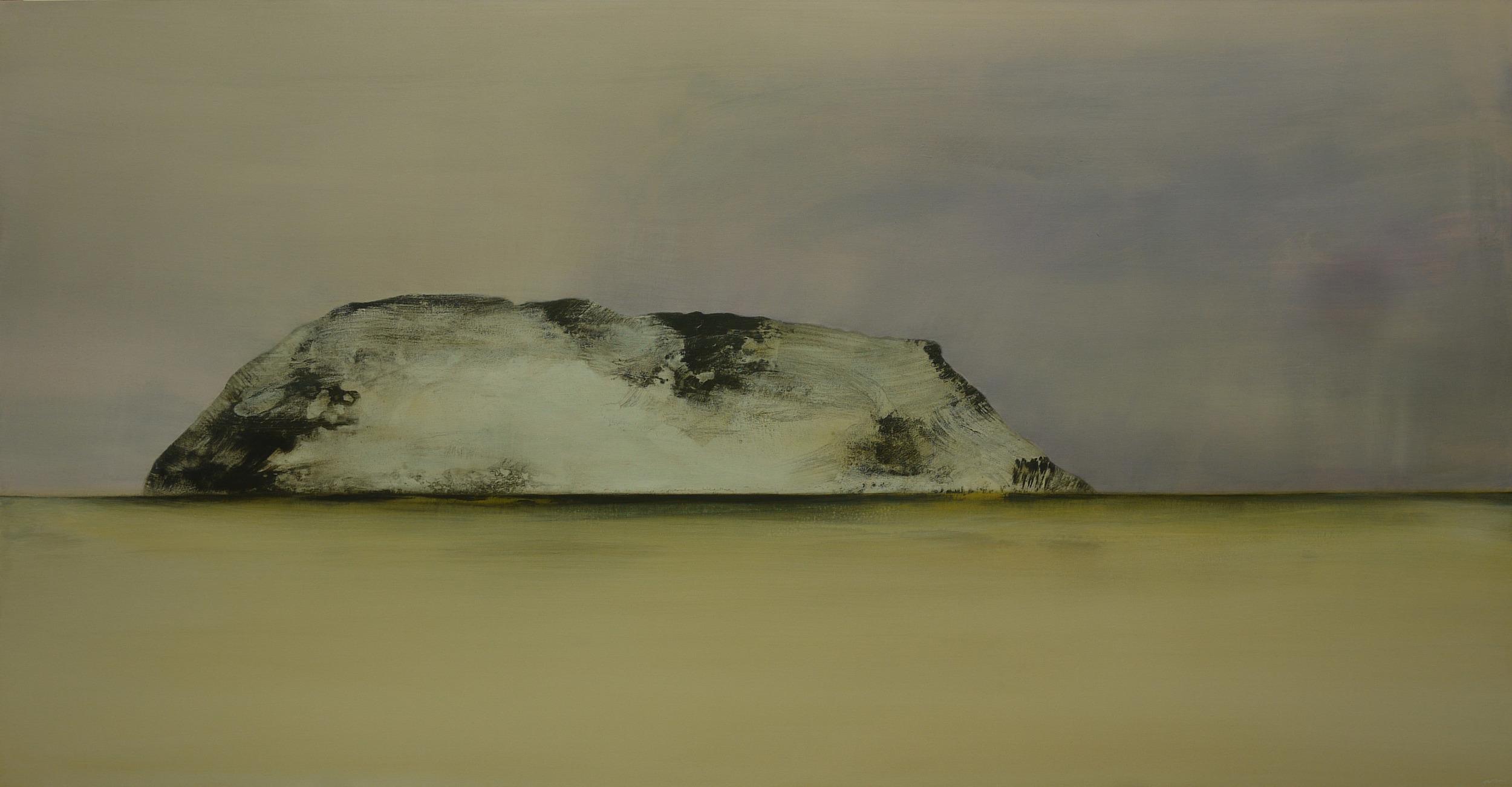 Wyn-Lyn TAN  Whisper, Breathe  2013 Acrylic on canvas 103 x 197 cm