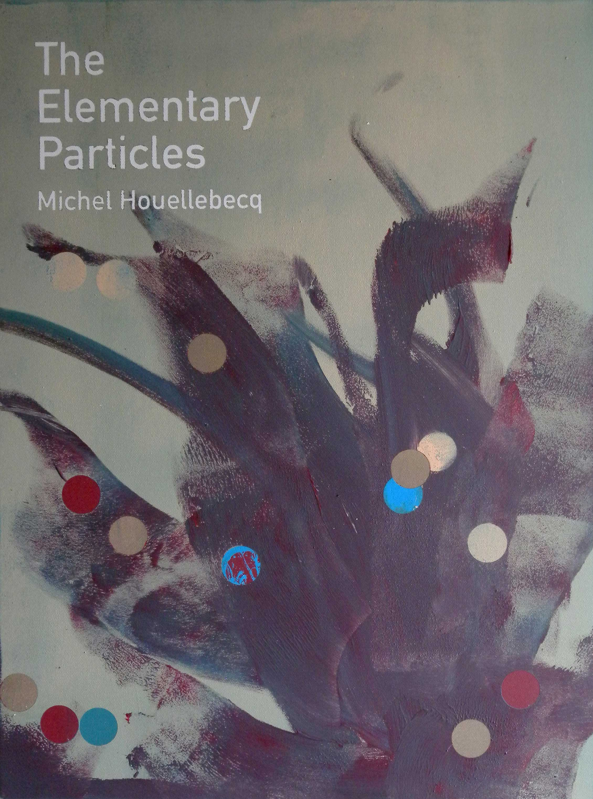 Heman CHONG  The Elementary Particles / Michel Houellebecq  2013 Acrylic on canvas 61 x 46 x 3.5 cm