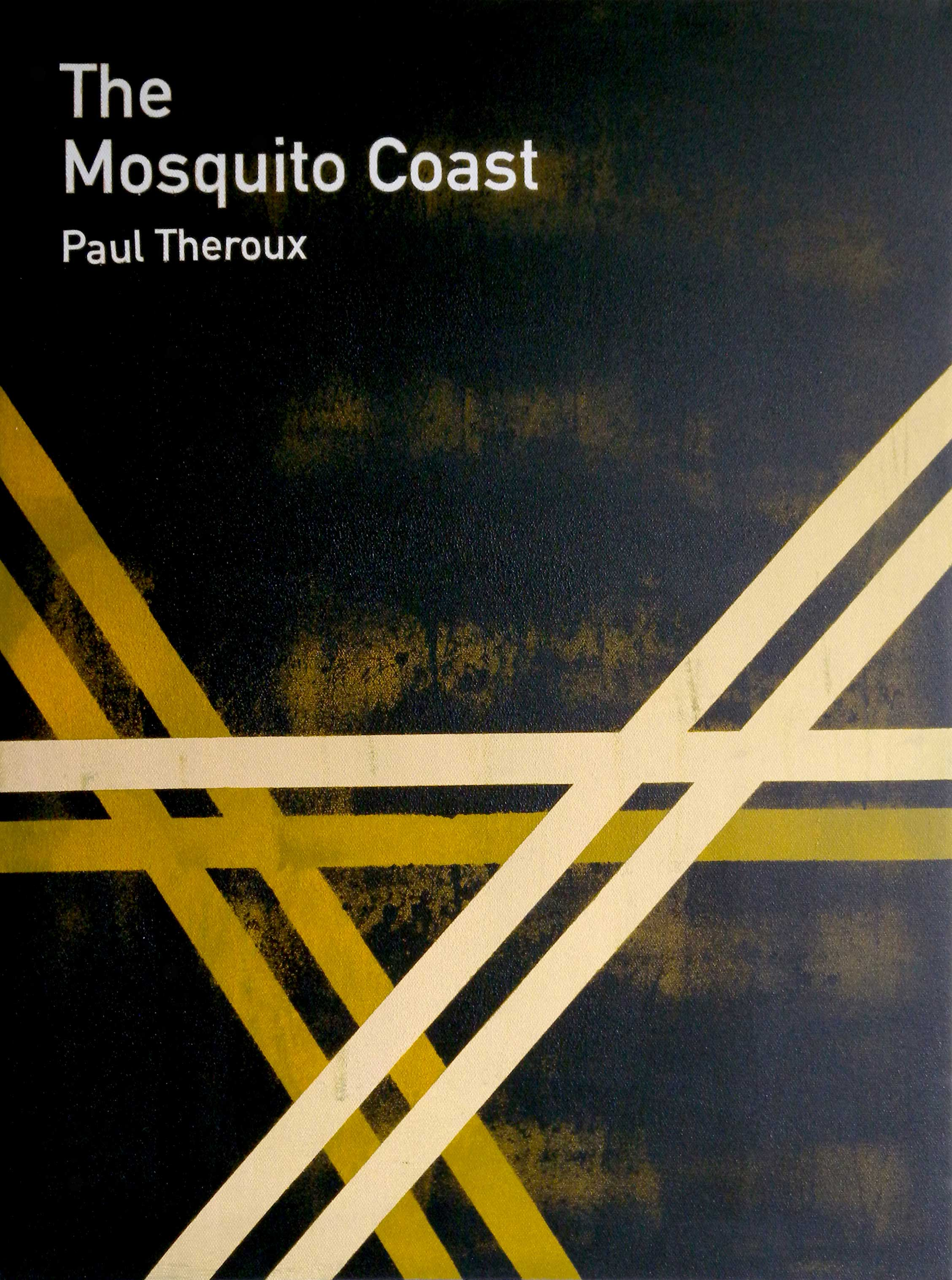 Heman CHONG  The Mosquito Coast / Paul Theroux  2013 Acrylic on canvas 61 x 46 x 3.5 cm