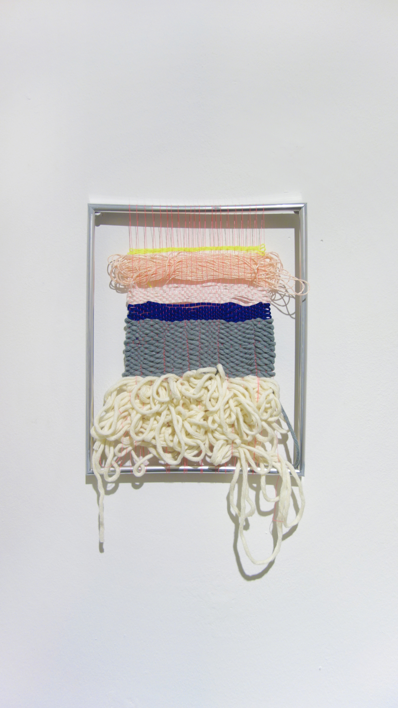 Izziyana Suhaimi, In Between Forgetting, 2015, Cotton and polyester thread woven on found frame, H34 x W21.5 cm.jpg