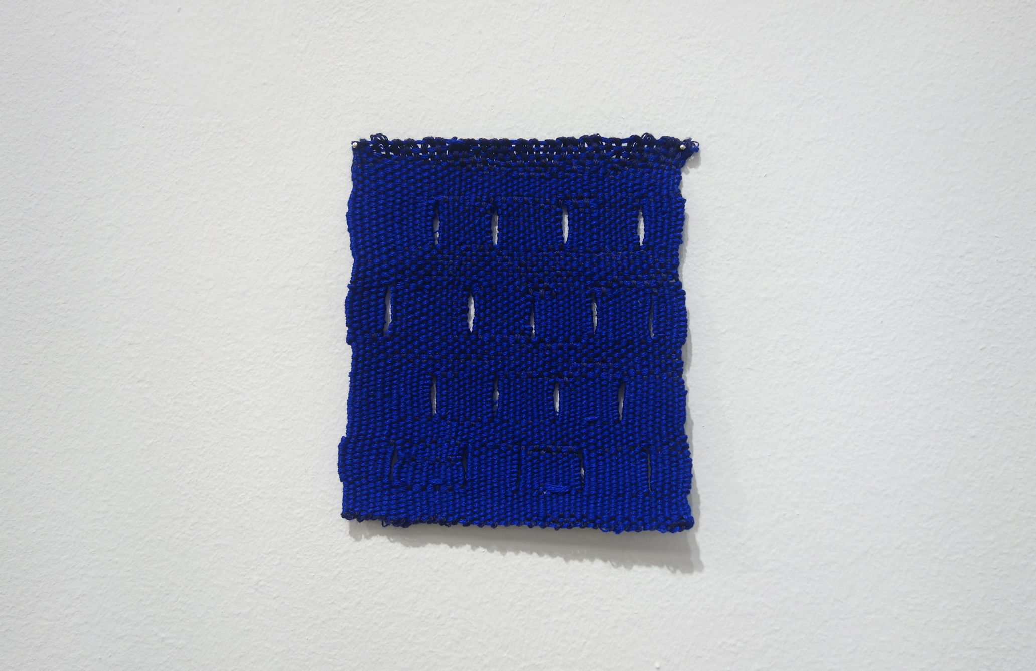 Izziyana Suhaimi, Small Studies of an Everyday Practice VIII, 2014, Cotton thread; woven, H11 x W10 cm.jpg