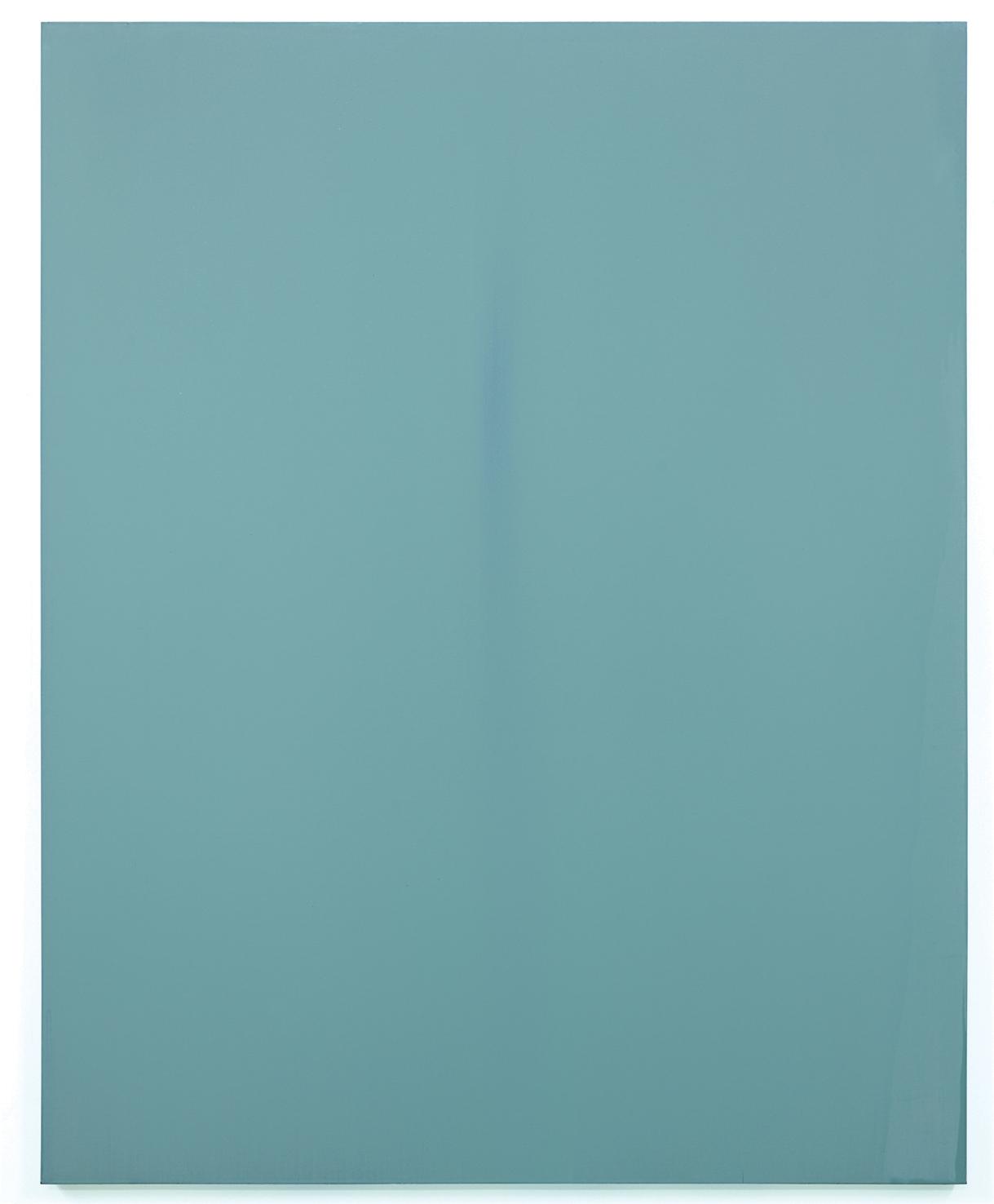 Luke HENG Blue on Blue 2015 Oil on linen H170 x W135 xD5 cm