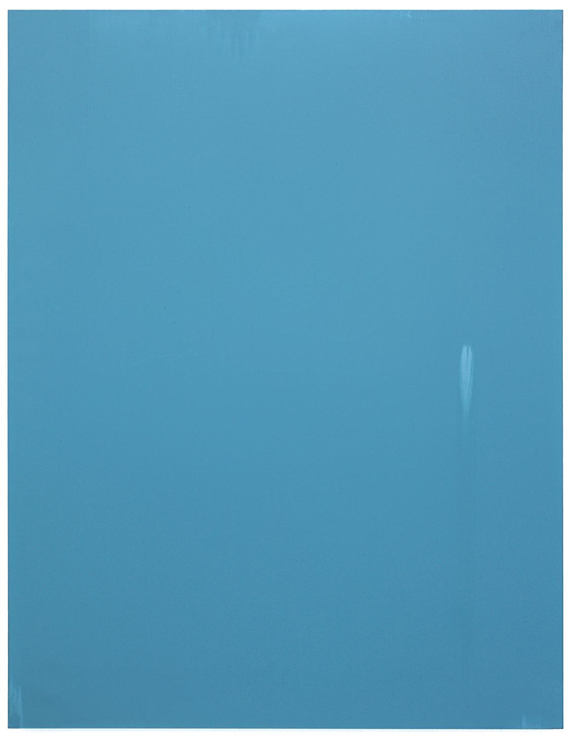 Luke HENG Blue on White 2015 Oil on linen H150 x W115 xD5 cm
