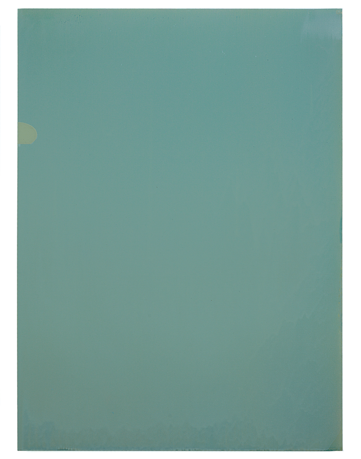 Luke HENG  Green on White  2015 Oil on linen H130 x W95 cm