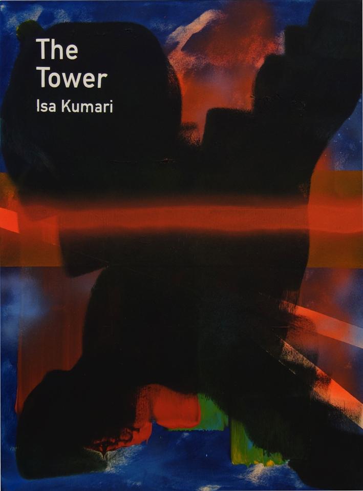 Heman Chong  The Tower / Isa Kumari  2015 Acrylic on canvas H61 x W46 x D3.5 cm