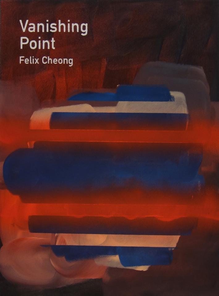 Heman Chong  Vanishing Point / Felix Cheong  2015 Acrylic on canvas H61 x W46 x D3.5 cm