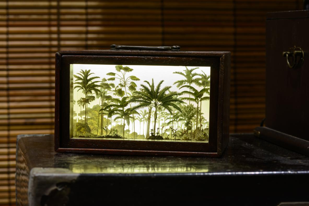 Installation View of  Gift Series:Pluvia Silva (Gift #04) , 2016 Credit:Eudora Rusli Photo Credit:Fotograffiti (John Yuen)