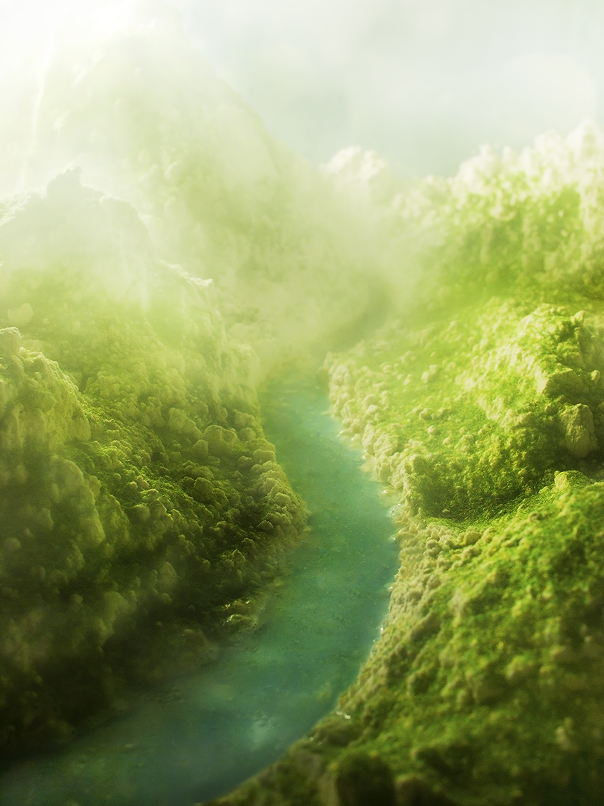 Sebastian Mary TAY  Redolent Hills and Delectable Mountains #1  2012/2013 Diasec Print H90 x W67.5 cm