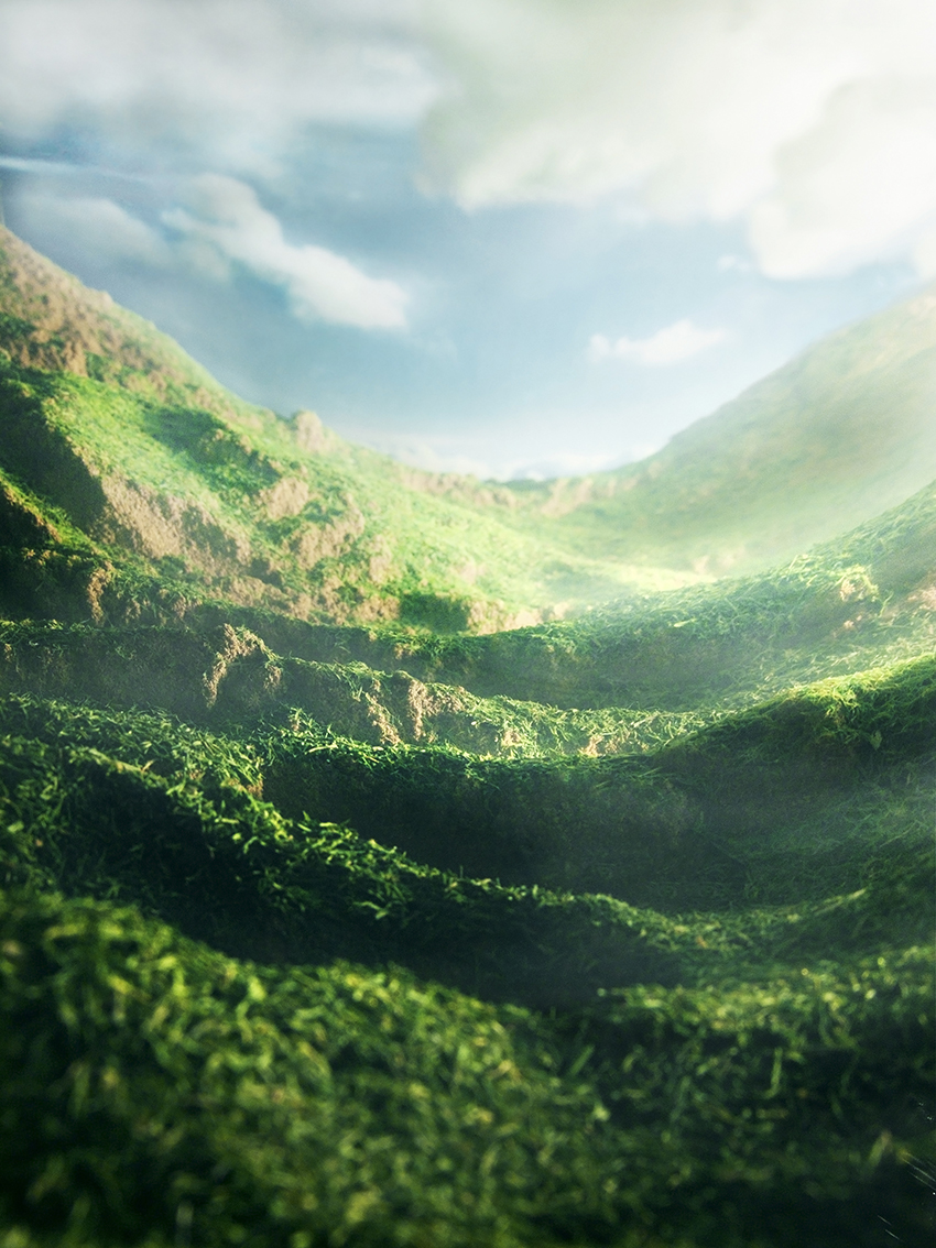Sebastian Mary TAY  Redolent Hills and Delectable Mountains #2  2012/2013 Diasec Print H90 x W67.5 cm