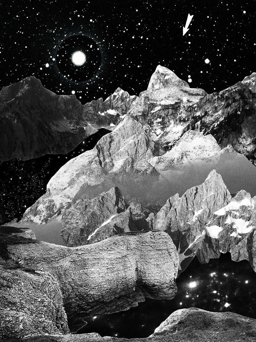 Sebastian Mary TAY  Where Does the Sun Rise; Where Will the Moon Shine #1  2017 Giclée print on lustre paper H28 x W21 cm (artwork)
