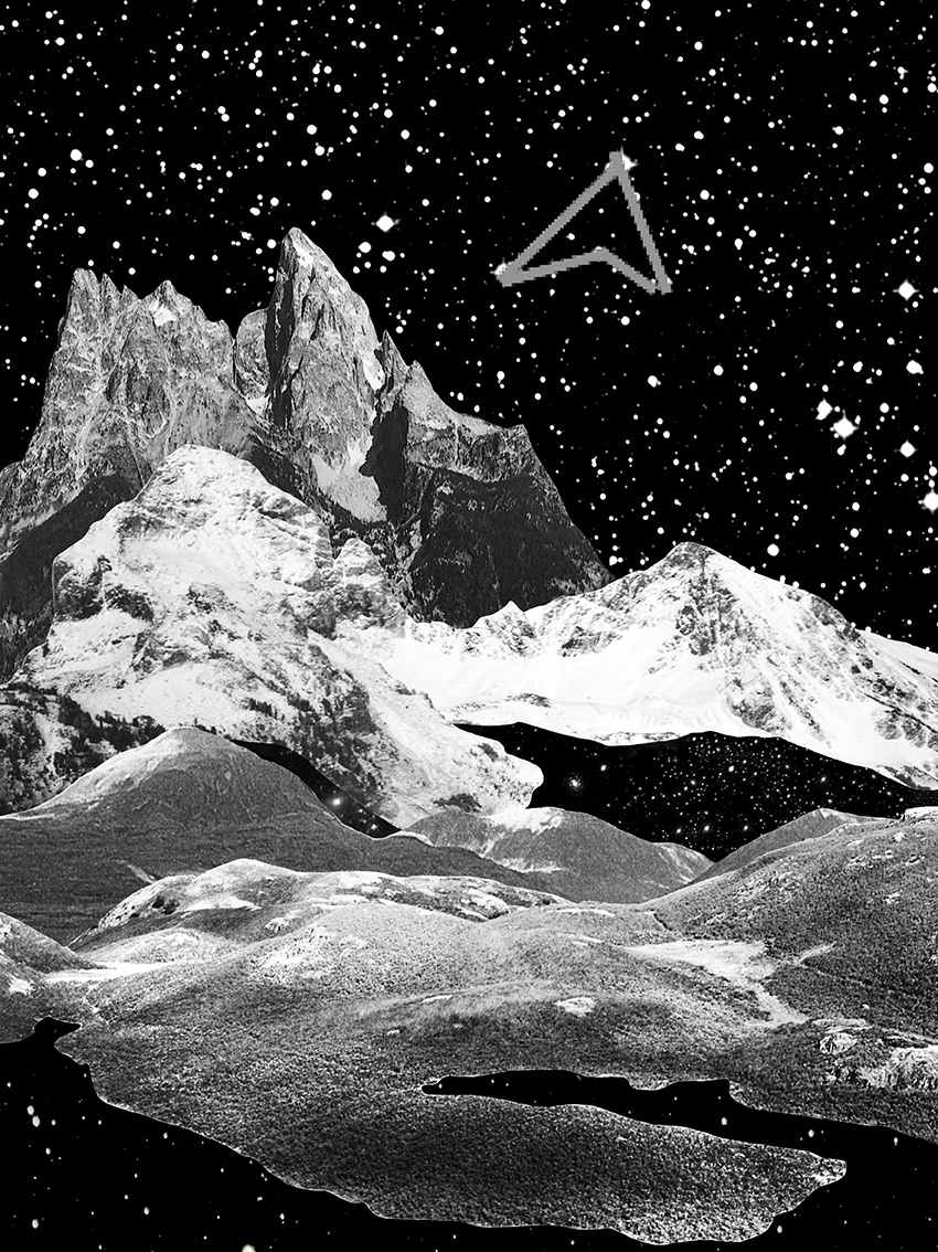 Sebastian Mary TAY  Where Does the Sun Rise; Where Will the Moon Shine #2  2017 Giclée print on lustre paper H28 x W21 cm (artwork)