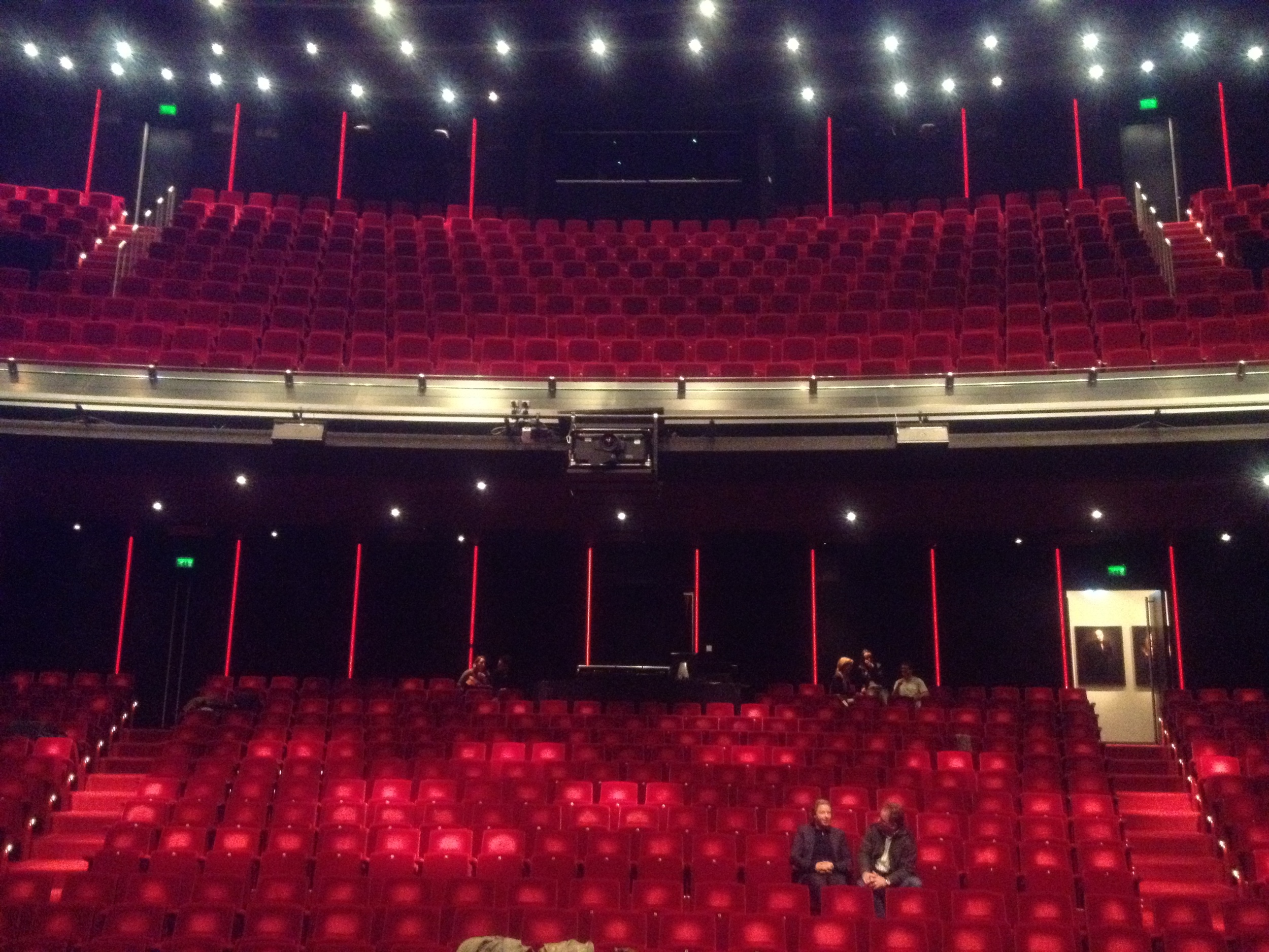 DeLaMar from stage