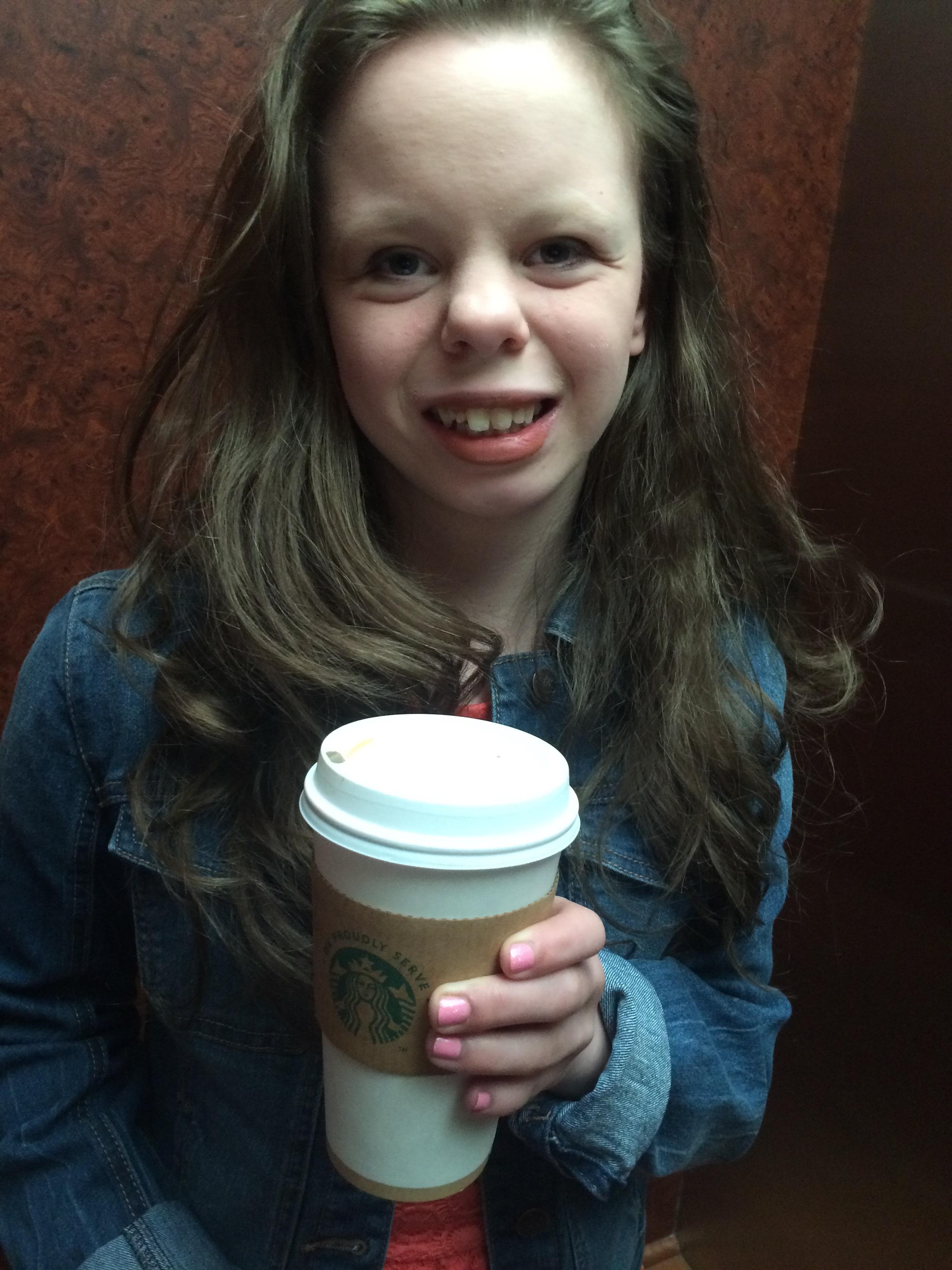 Starbucks = Chloe's fave <3