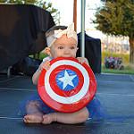 super baby: captain america - kenzie rister