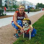 super dog: wonder woman duo, pam & panko
