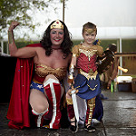 Traditional Super Girl: Wonder Woman, Laela Garner