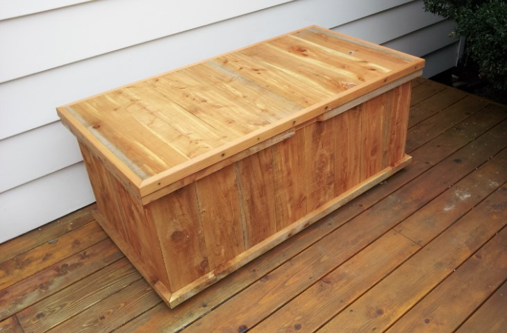 Deck boxes are another of CDW's product offerings.