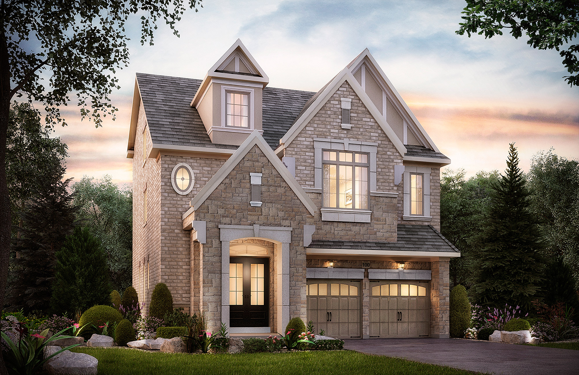 The Shaw. 40 Ft. Lot   - 3208/3237  SF