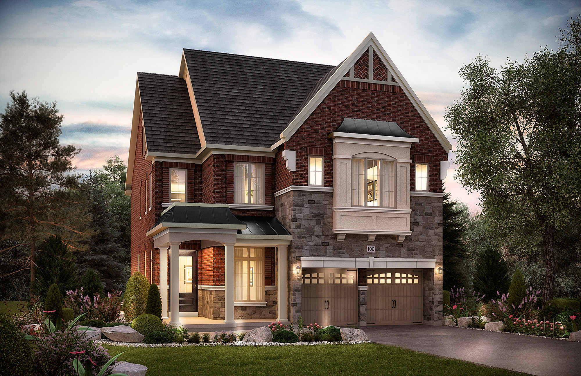 The Barnard. 40 Ft. Lot - 3401/3362   SF