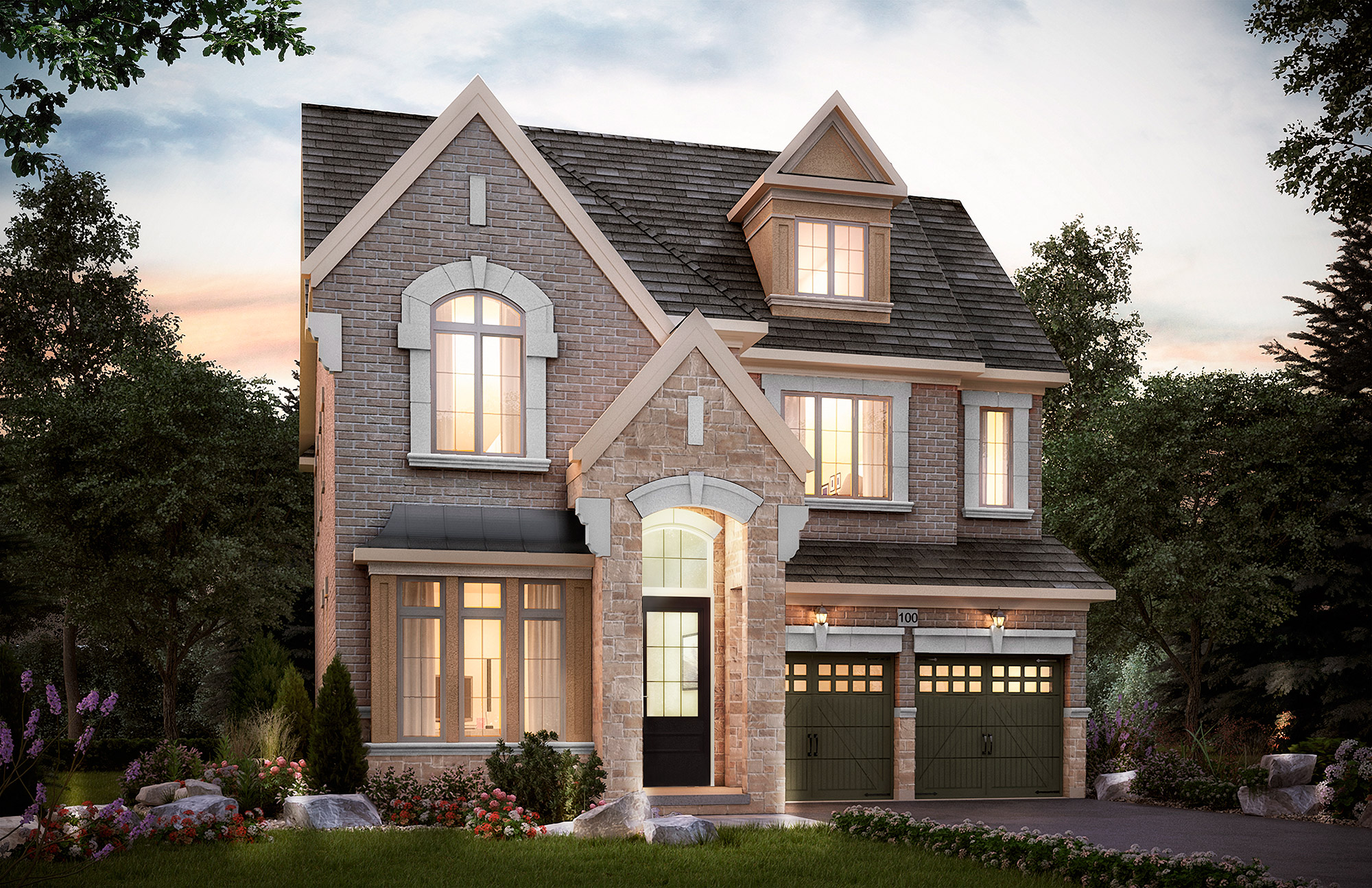 The Langstaff. 45 Ft. Lot - 3540/3569   SF