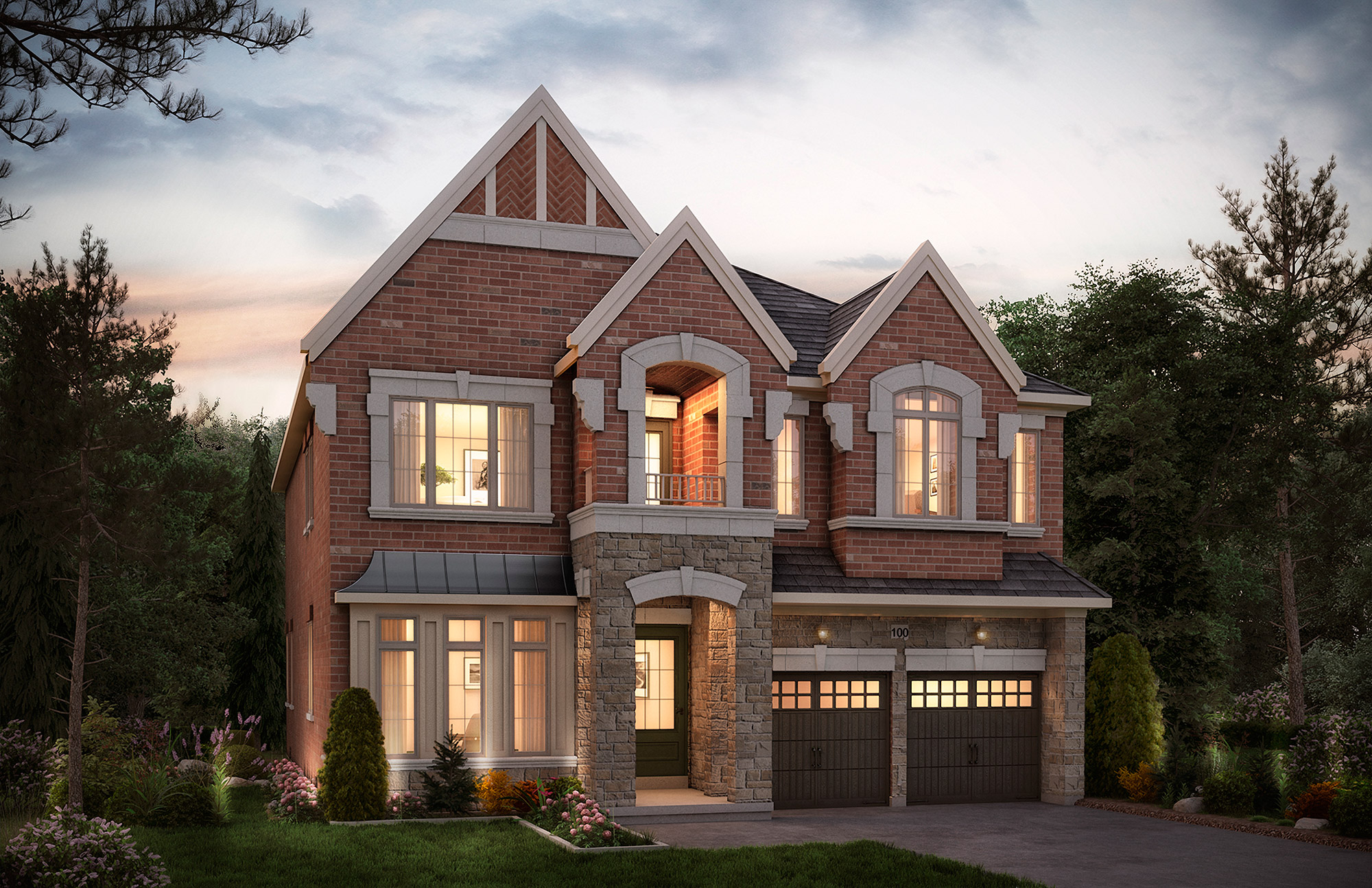 The Headford. 50 Ft. Lot - 3994/4012   SF