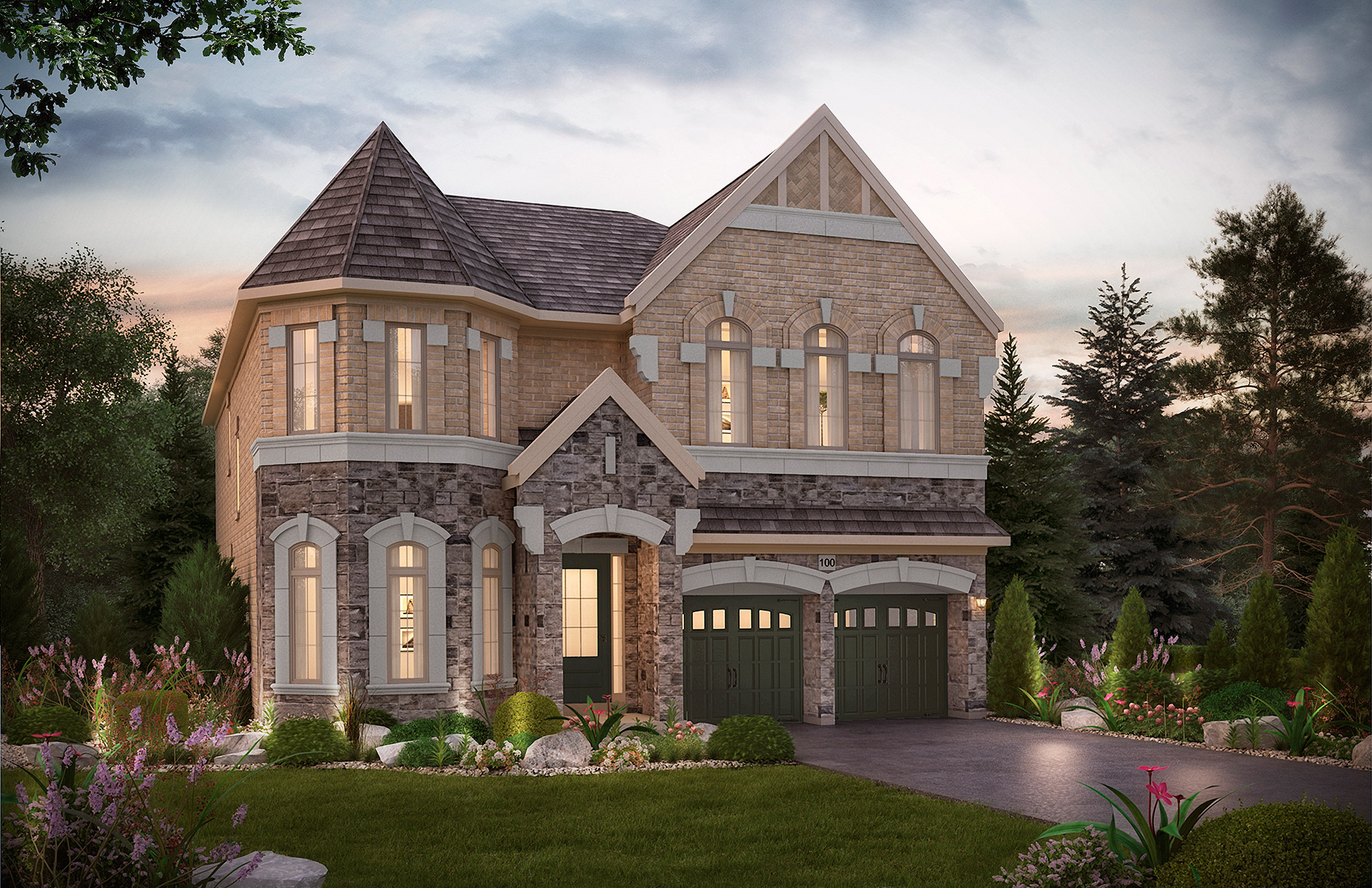 The Jefferson. 50 Ft. Lot - 4465/4460   SF