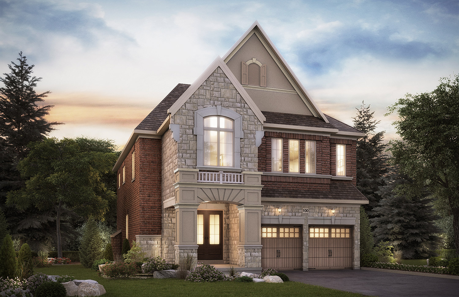 The   Oak Ridges   Elgin, 40 Ft. Lot - 3105/3118   Sq. Ft.