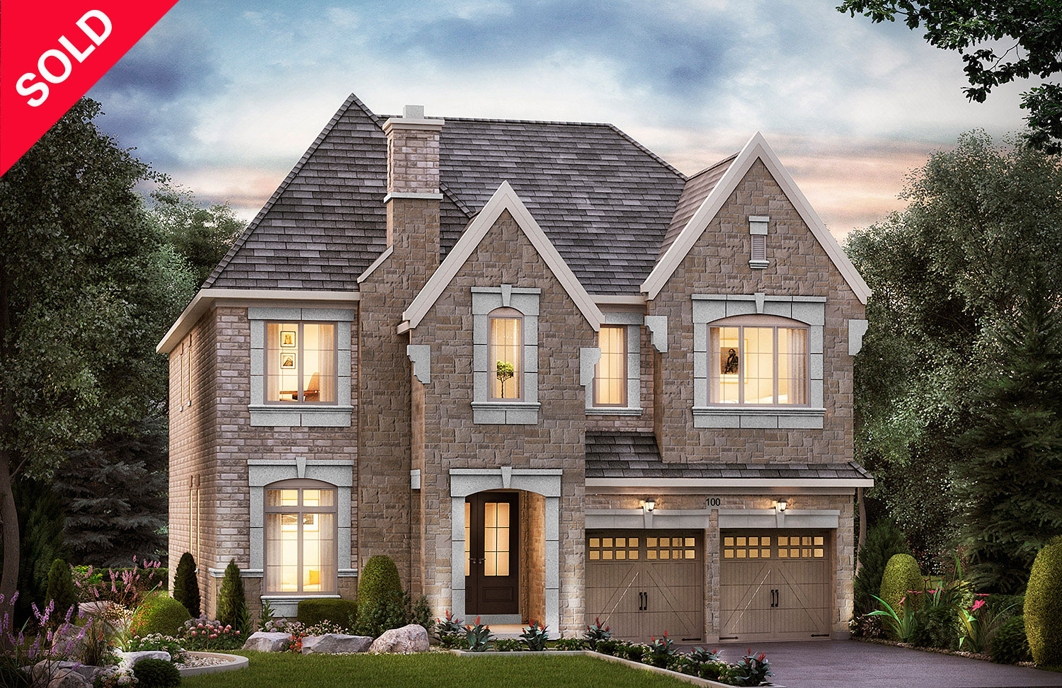 "5005 - Oak Ridges Horner, Elev. ""A""  - 4537   Sq. Ft."
