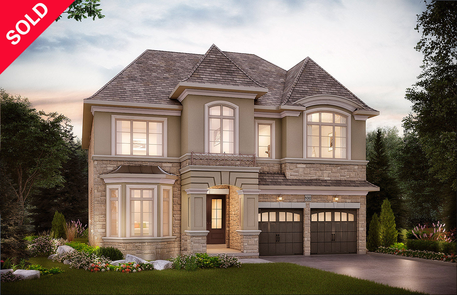 "5005 -  Oak Ridges   Horner,  Elev. ""B""  - 4531  Sq. Ft."