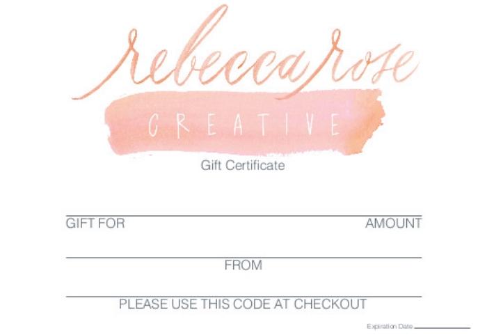 Rebecca Rose Creative gift card - front.jpg
