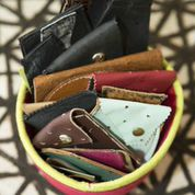 Leather Card Cases by Imperfect Art