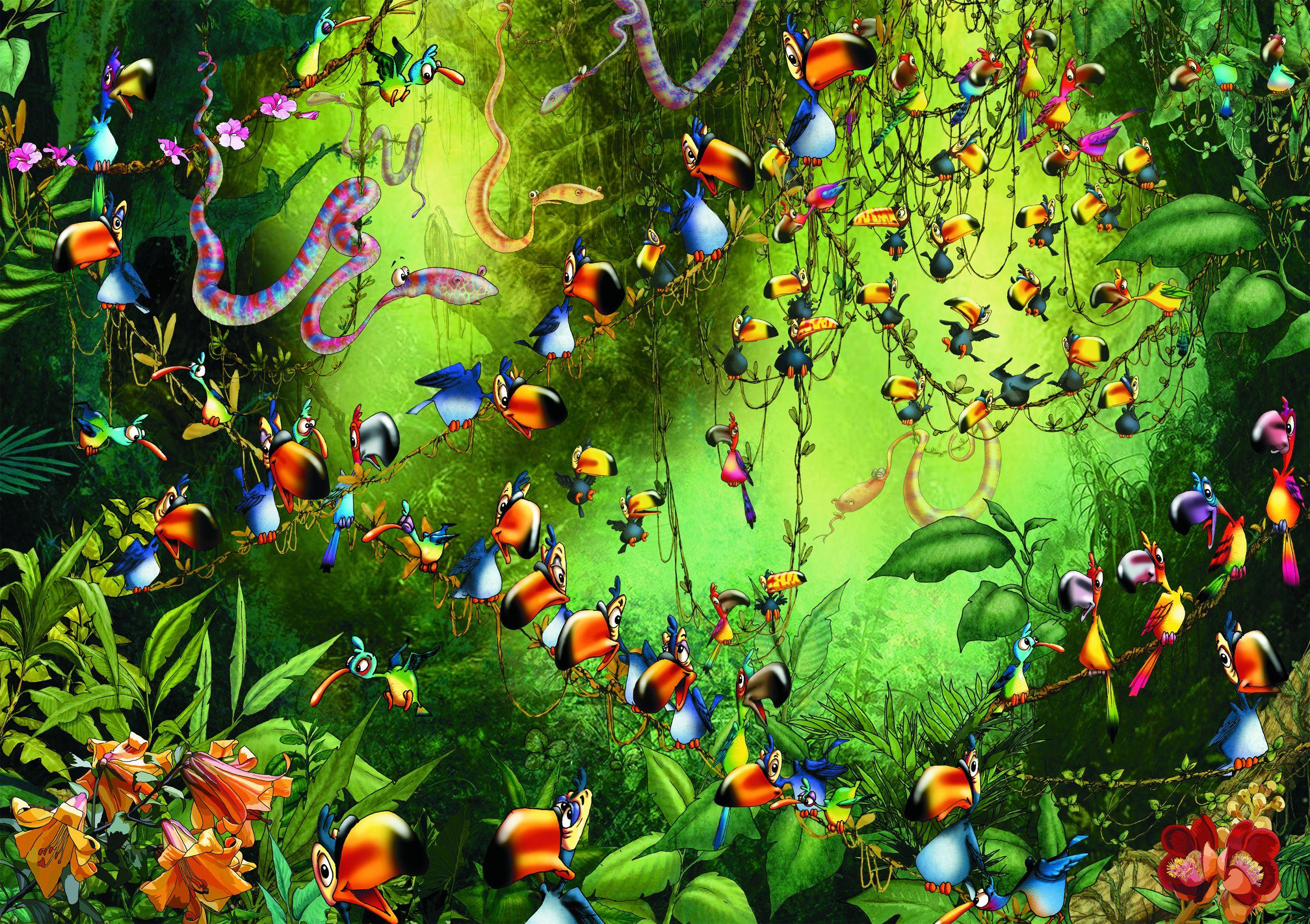 """Ruyer """"Toucans"""" (5491) 1000 piece puzzle"""