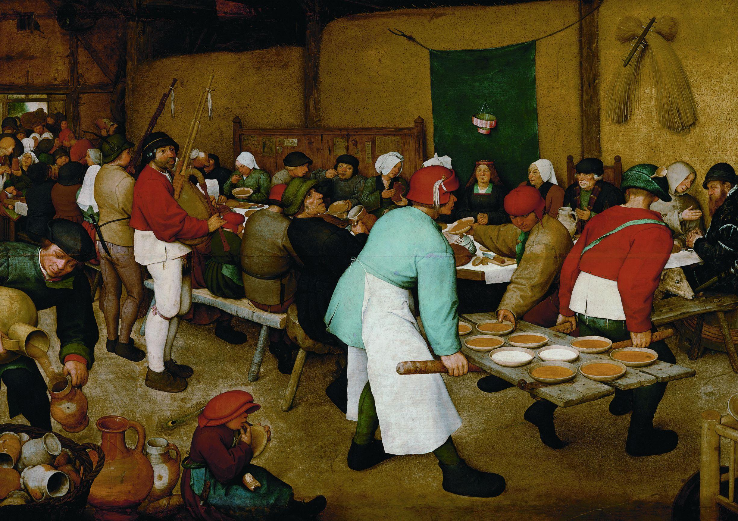 """Bruegel """"Peasants's Wedding"""" (5483) 1000 piece puzzle"""