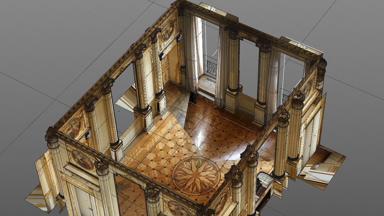 Resulting Photo Mapping
