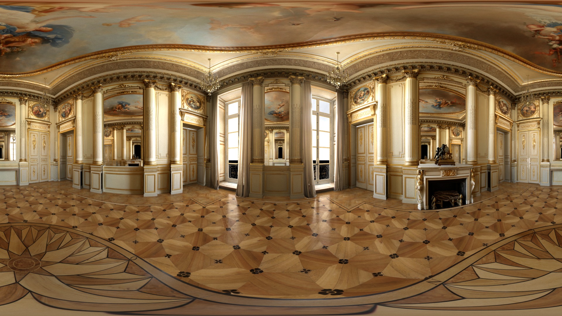 360 Render of the Salon Chaumet