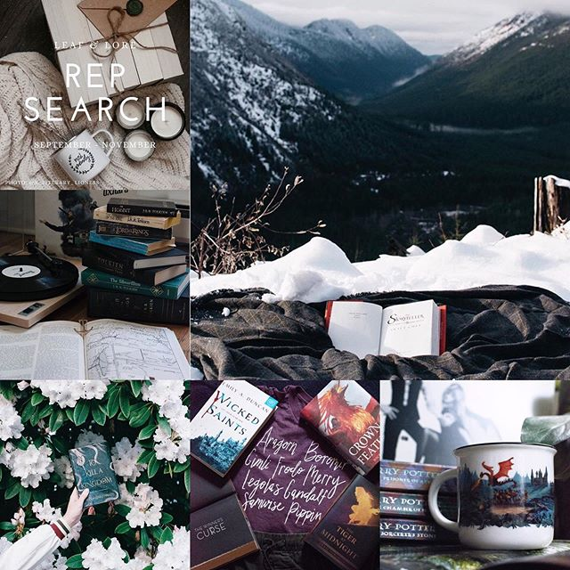 🌲🌲🌲 Rep Search Post 🌲🌲🌲⠀ .⠀ Read, Adventure, Repeat ⠀ .⠀ Hi Megan (@leafandlore)! My name is Mia and I'm a 28 year old wandering librarian! I call Seattle home, though I'm originally from North Dakota. When I'm not curled up on the couch with a mug of hot chocolate and a book, I'm out exploring the beautiful PNW. My photos are balance of indoor and outdoor shots, and I really try to incorporate a elements of adventure, nature, and coziness in my photos. Gushing about your beautiful mugs and t-shirts feels natural to me, as they feature many of my favorite series, including Harry Potter, Six Of Crows, and (my all time fav) LOTR. I absolutely love my Fellowship T-shirt (it's so comfy and cute!) and I'd love to help your store grow by sharing my love for your shop with others! Thanks for considering me! ⠀ .⠀ #leafandlorerep2