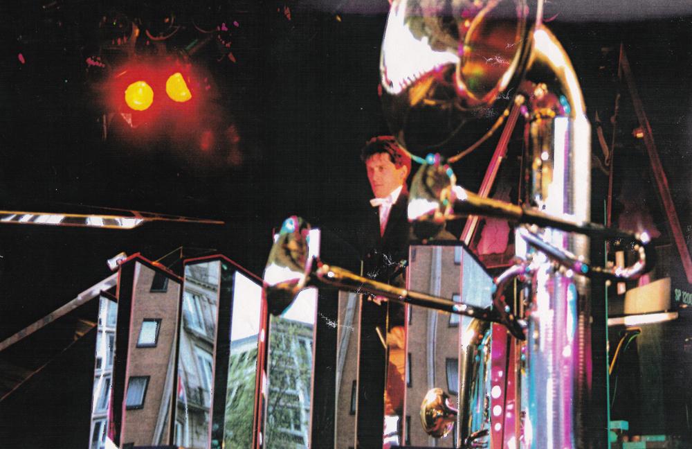 ... Live mit dem Blue Chip Orchestra vor dem Kölner Dom