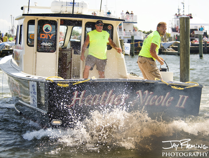 Crisfield Boat Docking Competition