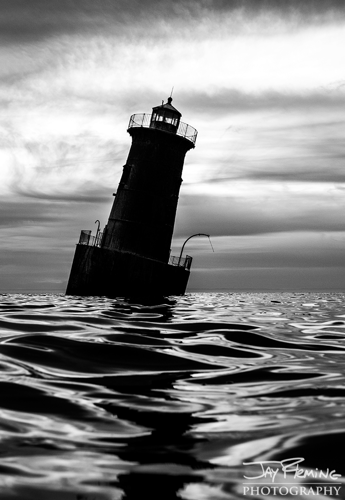 Sharps Island Light at the mouth of the Choptank River